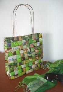 Carteras de papel reciclado : VCTRY's BLOG