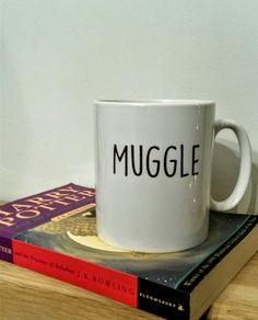 Check out this item at Etsy https://www.etsy.com/uk/listing/250914237/harry-potter-muggle-gift-mug-simplicity