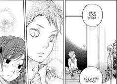 You love each other. Just say it! Natsume and Sasayan