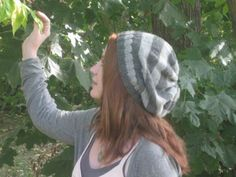Striped & Slouchy Hat « A Simple Stitch
