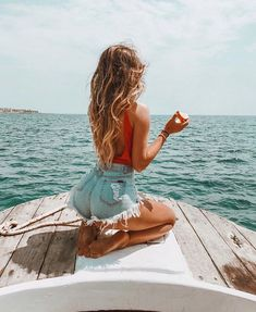 Shop for trendy swimwear, clothing and accessories for women at affordable prices Poses Photo, Picture Poses, Summer Pictures, Beach Pictures, Shotting Photo, Beach Poses, Summer Aesthetic, Flower Aesthetic, Blue Aesthetic