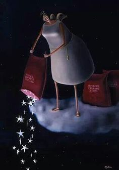 """""""Il cielo concede le stelle anche a chi non sa cosa farsene"""". (Antonello de Sanctis).   Stars in the night"""