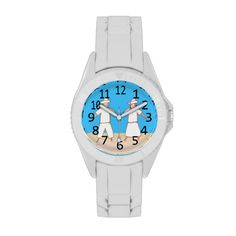 Scarecrow Couple Numbered Watch #scarecrow #halloween #watches #couple