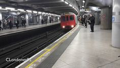 London Underground District Line Westminster to Victoria D78 stock train Filmed on 2nd November 2015