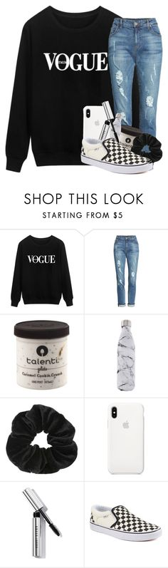 """Number one with a bullet"" by blairedelaney on Polyvore featuring KUT from the Kloth, S'well, Miss Selfridge, Bobbi Brown Cosmetics and Vans"