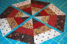 bitty bits & pieces: Scrappy Kaleidoscope Tutorial