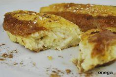 Tostadas o torrijas rellenas de crema pastelera
