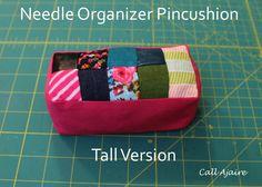 Call Ajaire: Needle Organizer Pincushion - Holiday Blogger Challenge