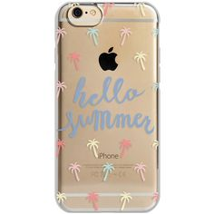 Agent18 Shockslim iPhone 6/6S Case ($11) ❤ liked on Polyvore featuring accessories, tech accessories, phone cases, phone, cases, fillers, hello summer and agent 18