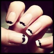 Nice Movember nail-art idea- Google Search