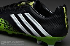 official photos d9499 8baf2 adidas Football Boots - adidas Predator LZ TRX FG - Firm Ground - Soccer  Cleats - Black-Running White-Ray Green