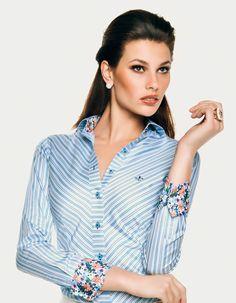 Camisa Dudalina Feminina coleção milano #casualdenovamutum 65 3308 4200
