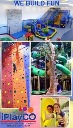 We Build Fun - indoor playgrounds, climbing walls, custom designs, custom theming, toddler play and more. We design, manufacture and install worldwide. Now offices in N. America, Asia and Europe.