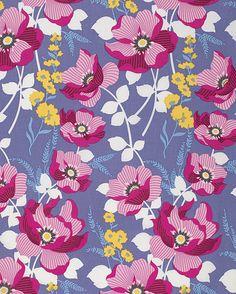 Atrium Fabric by Joel Dewberry Monarch Fuchsia by AllegroFabrics