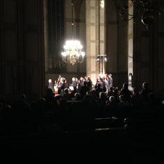 Brandenburgse concerten. Grote Kerk Zwolle. Ton Koopman 2016-10