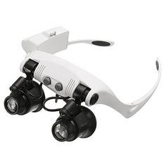 Baban 10X 15X 20X 25X Lloupe Magnifier 8 LED Lunettes Bijoutier Loupes Grossissantes Suivre: Price:33.73DETAILS DU PRODUIT: Objectif…