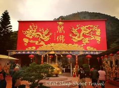 Ten Thousand Buddhas Monastery, #HongKong via Natasha Semmence (Eat Sleep Shoot Travel)
