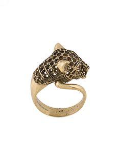 Iosselliani Heritage Cheetah Ring In Gold Druzy Ring, Gemstone Rings, Iosselliani, Unique Earrings, Wrap Style, Cheetah, Gold Rings, Plating, Jewels