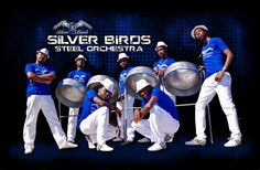 Silver Birds steel drum band. Saw them everytime we go to Jamacia. Love them.