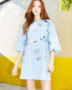 """byunni: """" Lee Sungkyung for 'LAP 2016 SPRING COLLECTION' LOOKBOOK """""""