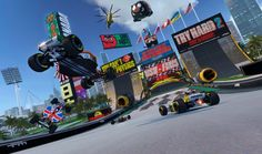Trackmania Turbo Update 1.02 Adds 40 PlayStation VR Supported tracks PS4Pro 4K support and 1080p Supersampling #Playstation4 #PS4 #Sony #videogames #playstation #gamer #games #gaming
