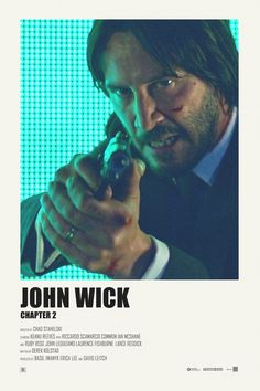 John Wick: Chapter 2 alternative movie poster Print available HERE