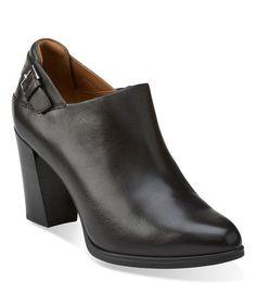 Look at this #zulilyfind! Black Kadri Dylan Leather Bootie #zulilyfinds