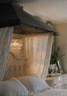 Using a range hood as a bed canopy/awning