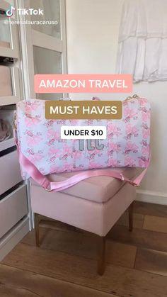 Amazon Hacks, Amazon Gadgets, Cool Gadgets To Buy, Best Amazon Buys, Amazon Beauty Products, Travel Products, Amazing Life Hacks, Useful Life Hacks, Packing Tips For Travel