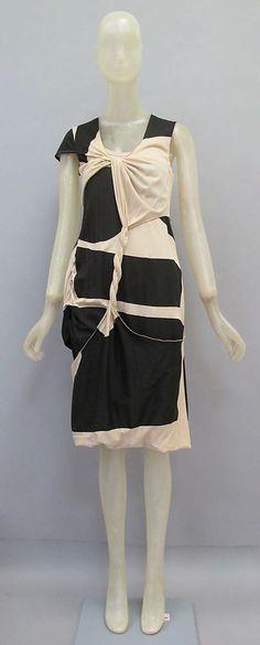 Dress | Helmut Lang (Austrian, born 1956) | Date: spring/summer 2005 | Culture: Austrian