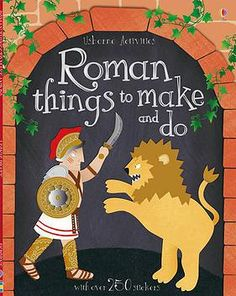 Kids exploring Ancient Rome what a lovely book: Roman Things to Make and Do (Usborne Activities) Rome Activities, History Activities, Ancient Rome, Ancient History, Ancient Greece, Romans For Kids, Romans Ks2, Primary History, Teaching Latin