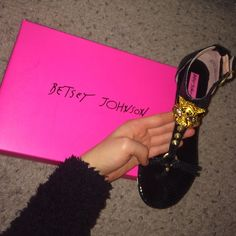 Bestsey Johnson tiger sandals Brand new, never worn. Small platform. Great for any occassion Betsey Johnson Shoes Sandals