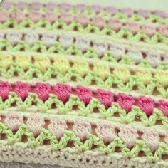 ByHaafner * crochet : A Field of Tulips * Hangers