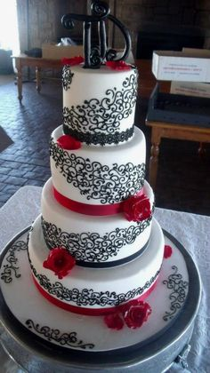 Wedding Style Guide Image Inspiration  http://wsgimageinspiration.blogspot.com.au/2013/02/black-white-and-touch-of-red.html