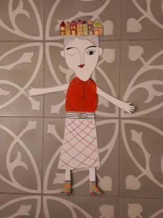 mariska eyck: paper doll!