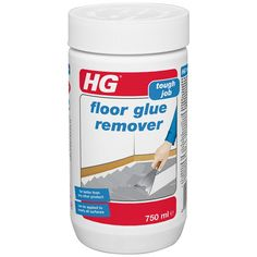 HG Floor Glue Remover 750 ml – is a floor glue remover that removes the most stubborn carpet glue: Amazon.co.uk: DIY & Tools