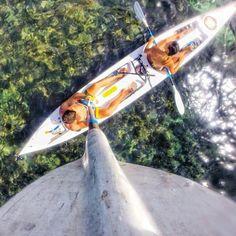 Gopro'dan kano selfiesi - Kayak selfie from Gopro www.tatilpusulasi.com