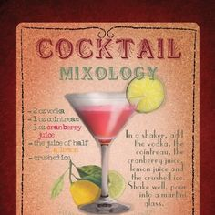 5 tips on making your own cocktail #mixology #cocktail #recipes