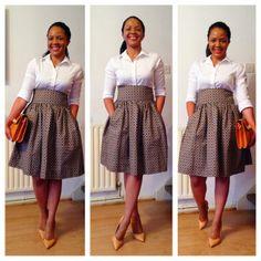 Shweshwe autmn fashion - loving it! South African Dresses, African Attire, African Wear, African Fashion Dresses, African Outfits, African Clothes, African Lace, Sesotho Traditional Dresses, African Traditional Wedding Dress