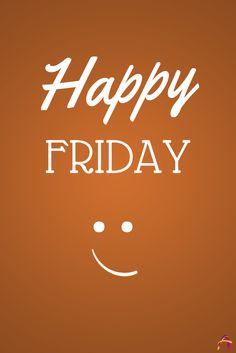 Feliz #Viernes. ¡Happy Friday!