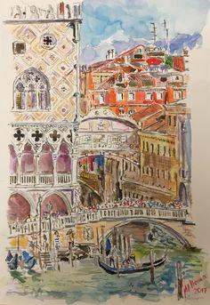 Puente dei suspiri. Venecia