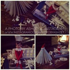 Elf on the Shelf Ideas - @Pinterest Night Pinterest Elf