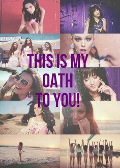cher Lloyd's oath(: I loveeeeeee this song!!!!