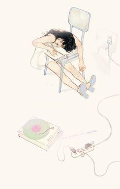 Aesthetic Drawing, Aesthetic Gif, Anime Gifs, Cute Couple Art, Beautiful Gif, Animation, Gif Pictures, Mo S, Anime Scenery