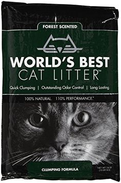 Worlds Best Forest Scented Clumping Litter  24lb >>> Learn more by visiting the image link.(This is an Amazon affiliate link)
