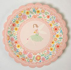 Fairy Magic 7 Party Plates