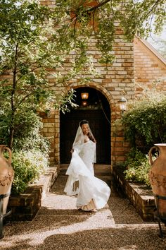 Venue - Clark Gardens (Weatherford, TX) Photo Credit - The Burrow Clark Gardens, Weatherford Tx, Texas Gardening, Bridal Portraits, Photo Credit, Wedding Dresses, Bride Dresses, Bridal Gowns