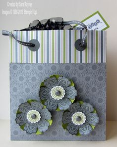 Twitterpated gift bag - Stampin' Up!