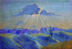 Sunset- Boris Kustodiev - WikiArt.org