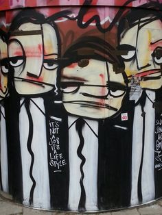 Street art in Amsterdam.